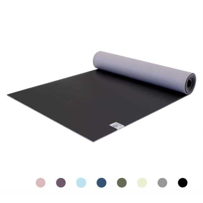 Premium Yogamatte - Diamond Black -  Schwarz - 6mm