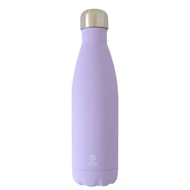 Love Generation Water Bottle Matte - Lilac - Insulated