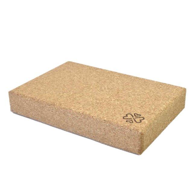 Kork Yoga Block - Flach