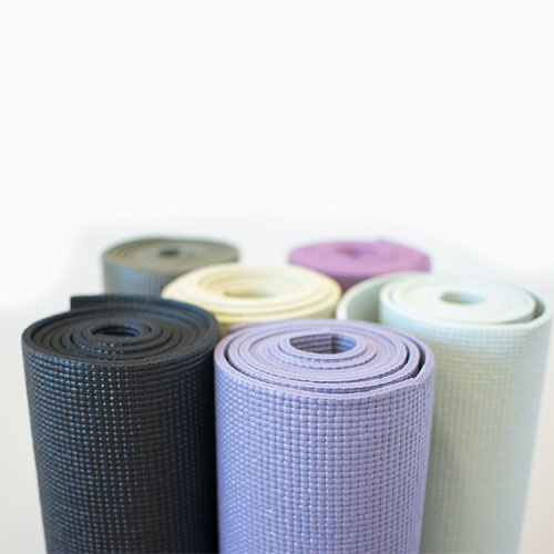 what is a pvc yoga mat