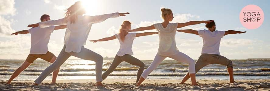 What kind of material does a yoga mat consist of?