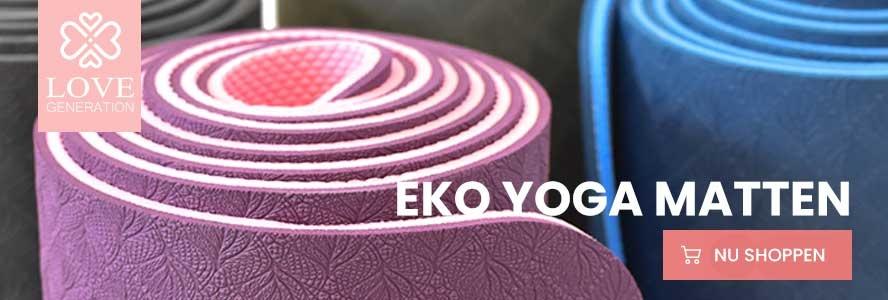 Deze matten zijn geschikt voor kalme yogastijlen