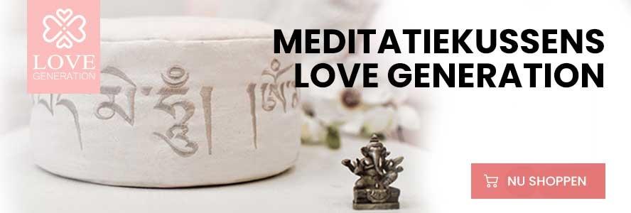 meditatiekussen love generation