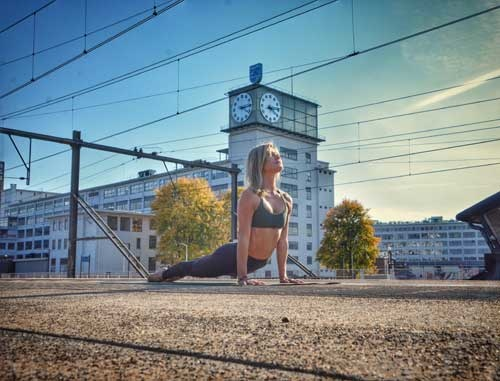 yogateacher in de spotlight