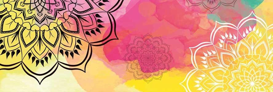 zand mandala kleuren symbool