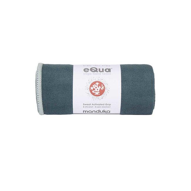 Manduka eQua Hand Towel - 41 cm - Sage - Groen