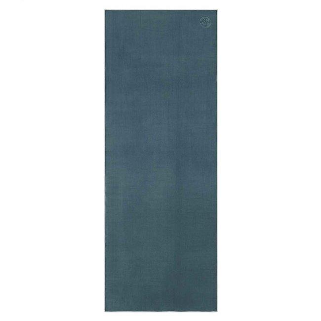 Manduka eQua Yoga Towel - 200 cm - Sage - Grün