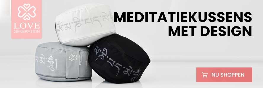meditatiekussen met borduursel
