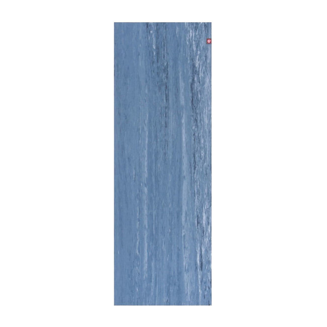 eKO Lite Yogamat - 4mm - Ebb Marbled - Blauw