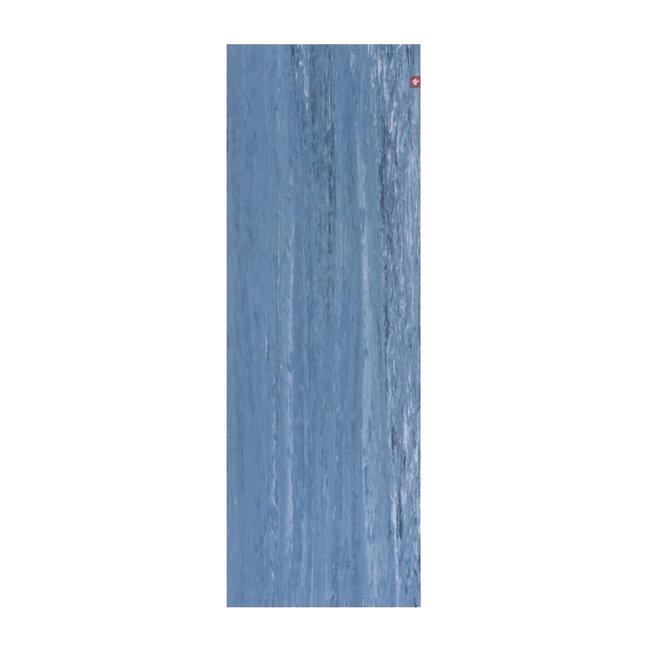eKO Lite Yogamatte - 4mm - Ebb Marbled - Blau