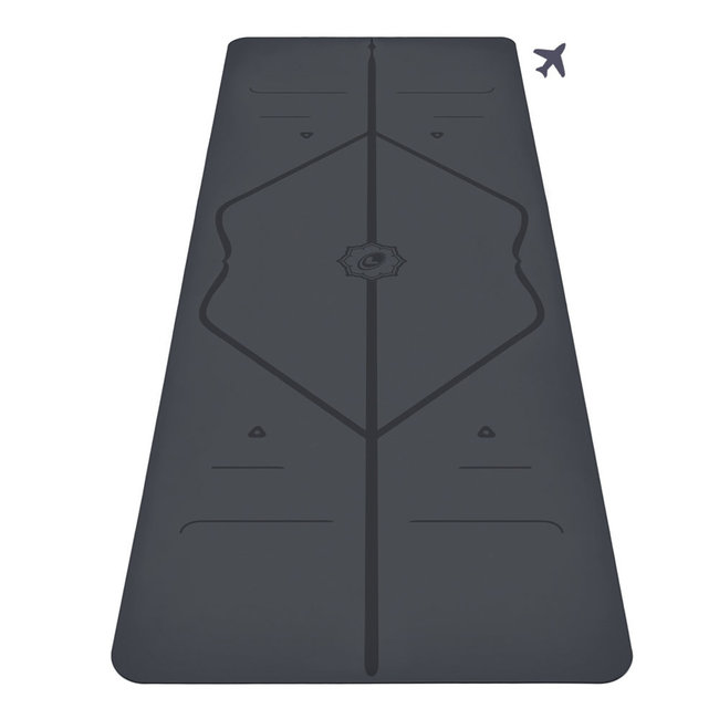 Liforme Travel Yogamat - 2mm - Grijs