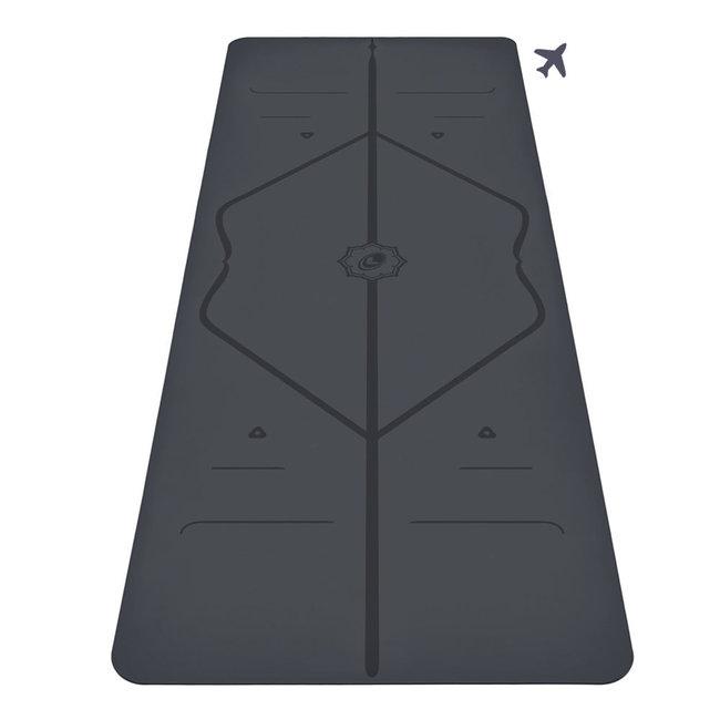 Liforme Travel Yogamatte - 2mm - Grau