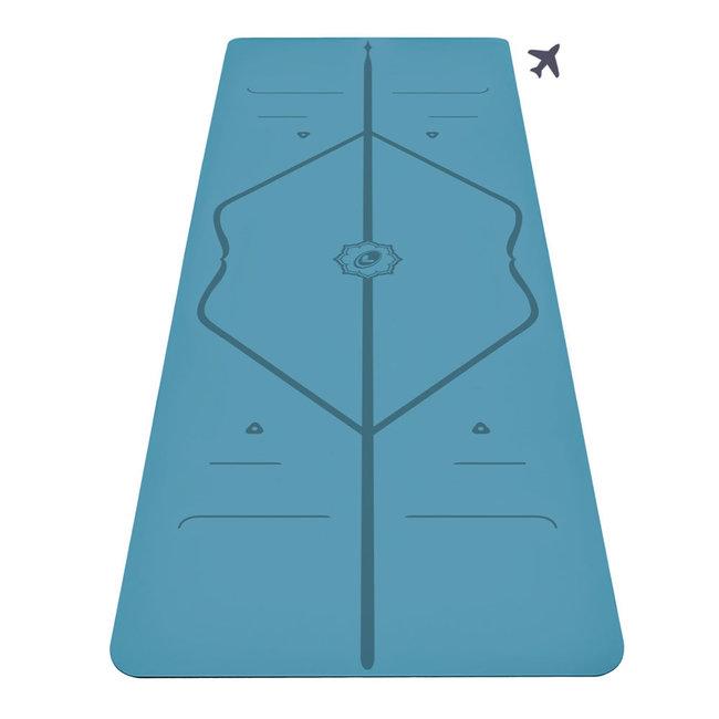 Liforme Travel Yogamat - 2mm - Blauw
