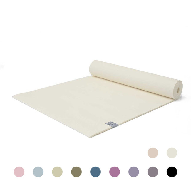Love Yoga Mat - Creamy White - Extra Thick - 6mm