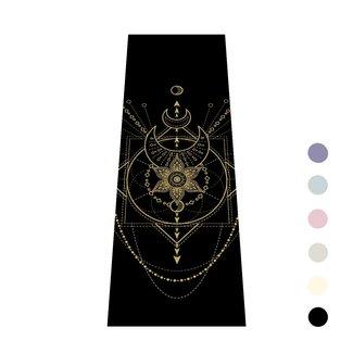 Love Generation Sacred Yoga Mat - Extra Thick - Black - Love Generation
