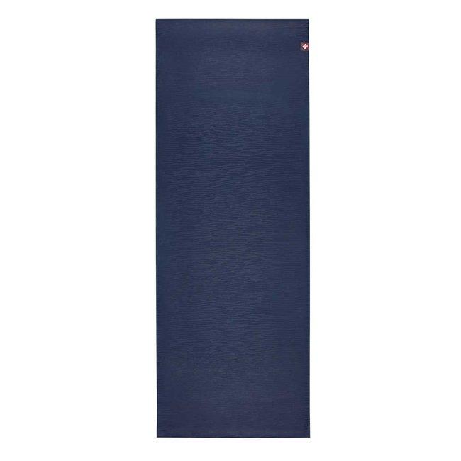 eKO Yogamatte - 5mm - 200 cm - Midnight - Blau