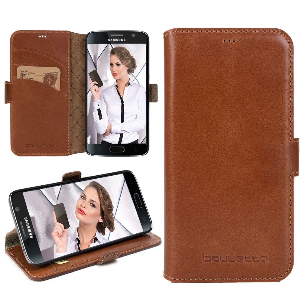 Bouletta Bouletta - Samsung Galaxy S6 WalletCase (Rustic Cognac)