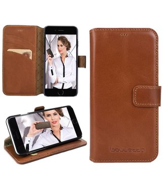Bouletta Bouletta - Apple iPhone 7 Plus BookCase (Rustic Cognac)