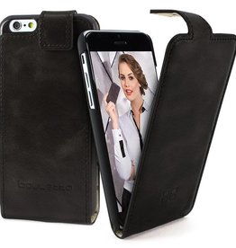 Bouletta Bouletta - iPhone 7 - FlipCase (Rustic Black)