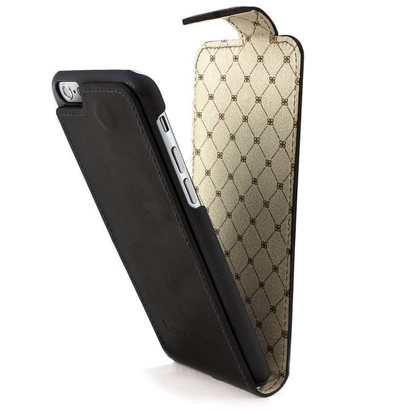 Bouletta Bouletta - iPhone 7 - Flip Cover (Rustic Black)