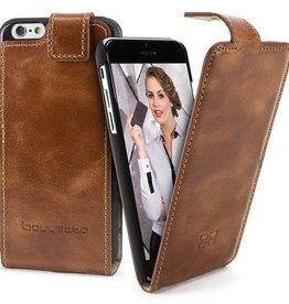 Bouletta Bouletta - iPhone 7 FlipCase (Rustic Cognac)