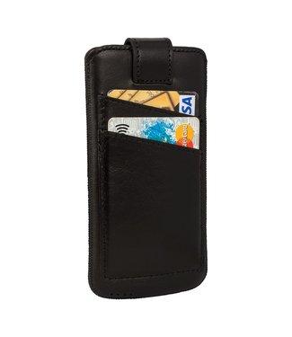 Bouletta Bouletta - iPhone 6 (S) / 7/8 Einsätze mit Taschen (Rustic Black)