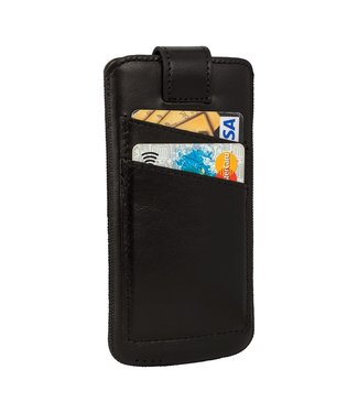Bouletta Bouletta - iPhone 6(S)/7/8 Sleeve with Slots (Rustic Black)