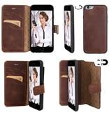 Bouletta Bouletta - iPhone 6(S) Magnet BookCase (Antic Coffee)