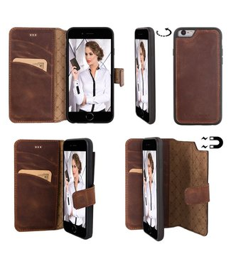 Bouletta Bouletta - iPhone 6(S) Magnet WalletCase (Antic Coffee)