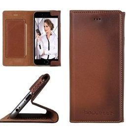 Bouletta Bouletta - iPhone 6(S) HalfWay BookCase (Burned Cognac)