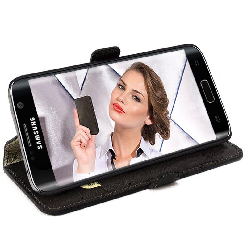Bouletta Bouletta - Samsung Galaxy S6 WalletCase (Rustic Black)