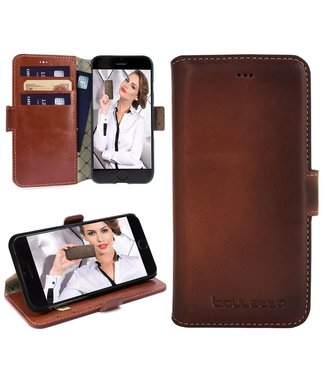 Bouletta Bouletta - iPhone 6(S) WalletCase (Burned Cognac)