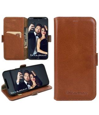 Bouletta Bouletta - iPhone Xs / X WalletCase (Rustic Cognac)