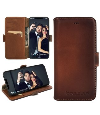 Bouletta Bouletta - iPhone Xs / X BookCase (Burned Cognac)