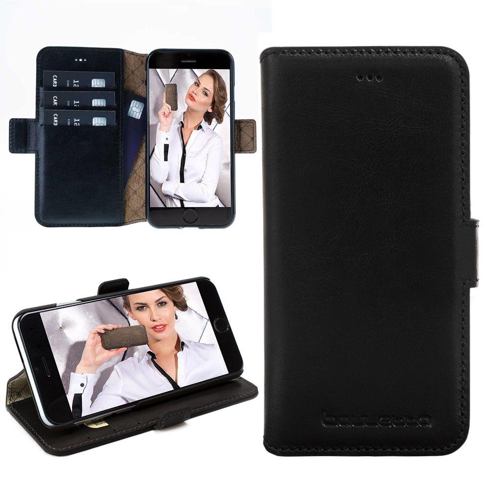 Bouletta Bouletta - Apple iPhone 7 BookCase N.E. (Rustic Black)