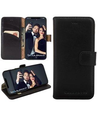 Bouletta iPhone Xs / X BookCase - Rustic Black (Classic)