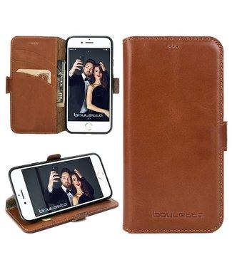 Bouletta Bouletta - iPhone 8 BookCase (Rustic Cognac)