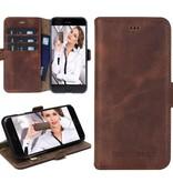 Bouletta Bouletta - iPhone 8 Book Case (Antic Coffee)