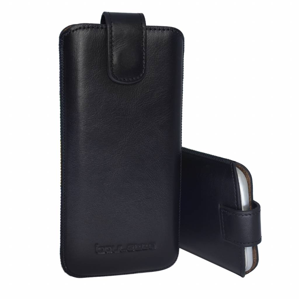 Bouletta Bouletta - iPhone 6(S)/7/8 Plus Insteekhoesje (Rustic Black)