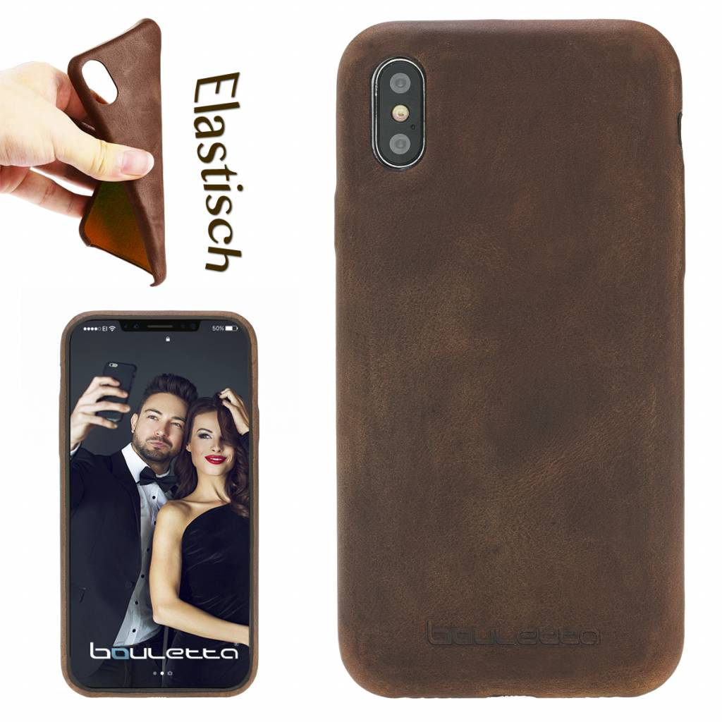 Bouletta Bouletta - iPhone Xs / X BackCover (Antic Coffee)