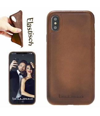 Bouletta Bouletta - iPhone Xs / X BackCover (Burned Cognac)