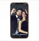 Bouletta Bouletta - iPhone Xs / X BackCover (Burned Cognac)