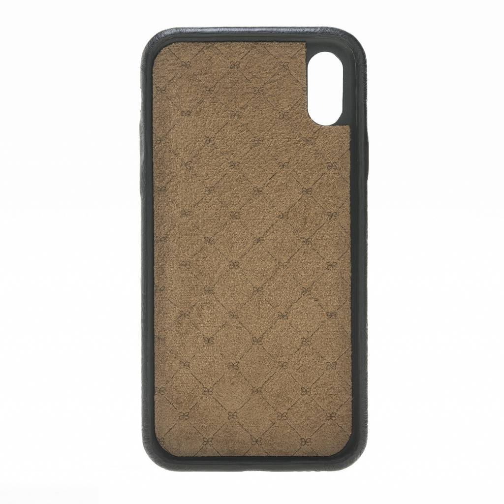 Bouletta Bouletta - iPhone Xs / X BackCover (Rustic Black)