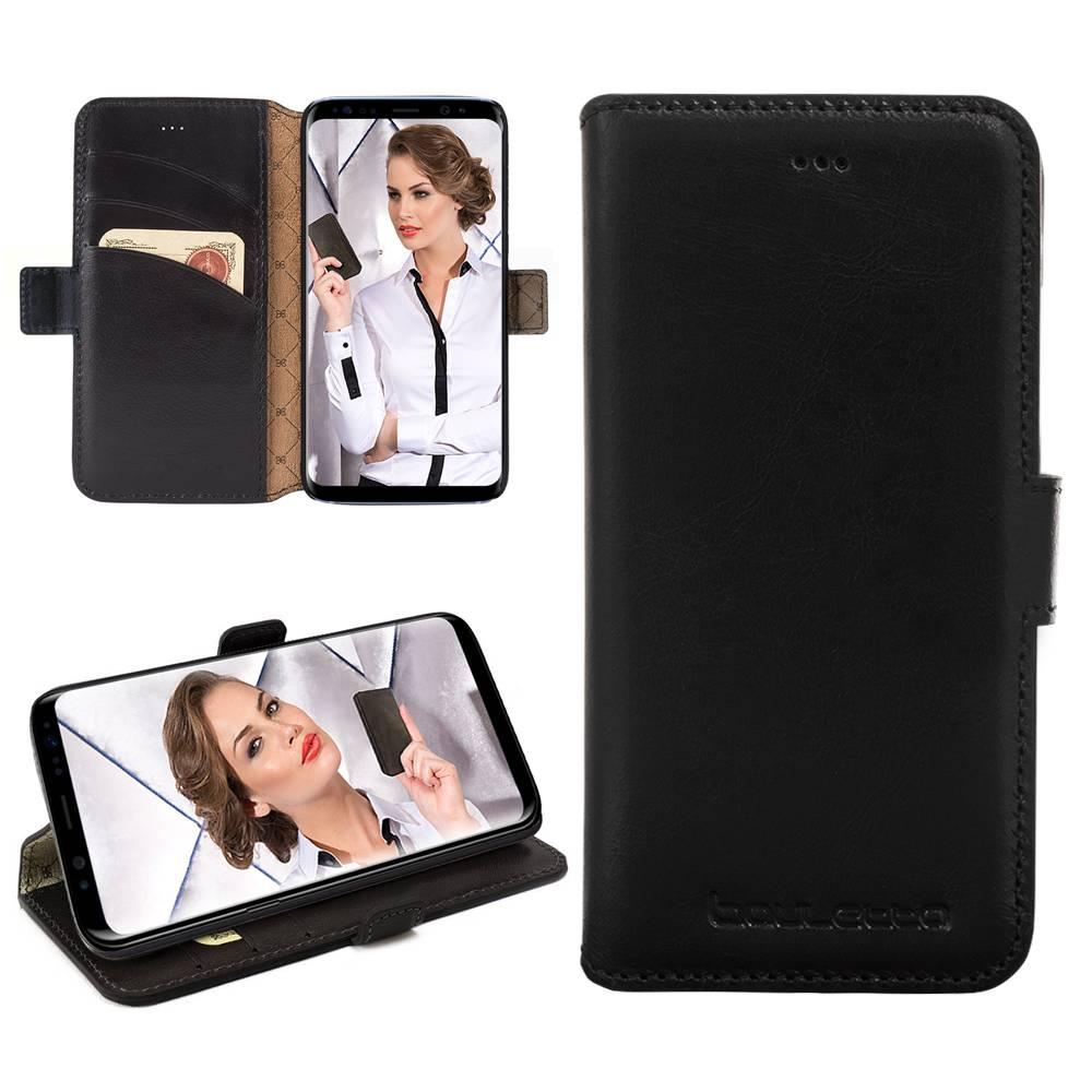 Bouletta Bouletta - Samsung Galaxy S9 Plus BookCase (Rustic Black)