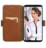 Bouletta Bouletta - Samsung Galaxy S9 Plus BookCase (Rustic Cognac)