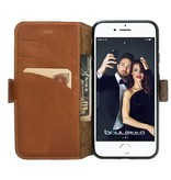 Bouletta Bouletta - Apple iPhone 8 BookCase (Rustic Cognac)