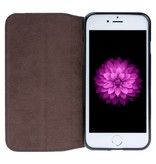 HardystoN HardystoN - iPhone 7/8 Magnetic Console BookCase 'Floater Brown'