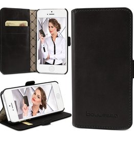 Bouletta Bouletta - iPhone 5(S) & SE WalletCase (Rustic Black)