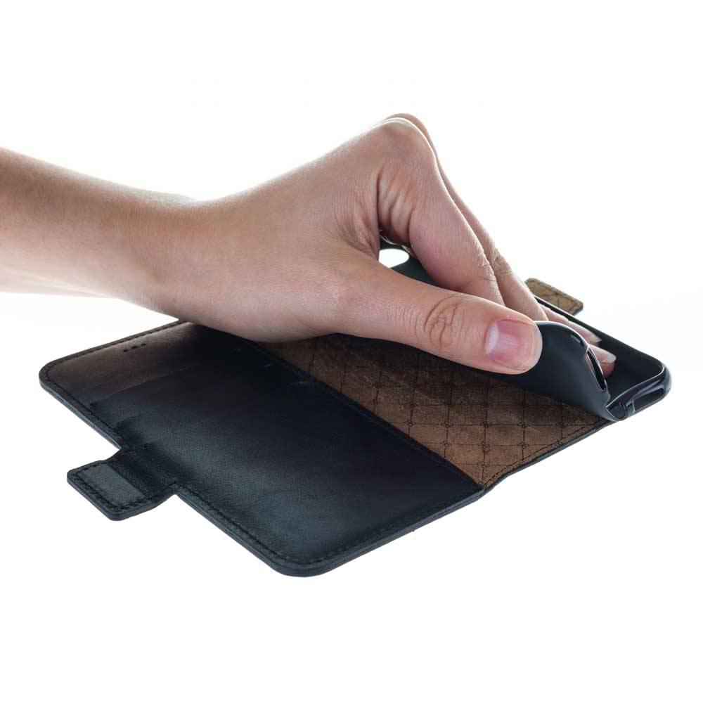Bouletta Bouletta - iPhone 5(S) & SE WalletCase (Rustic Black)