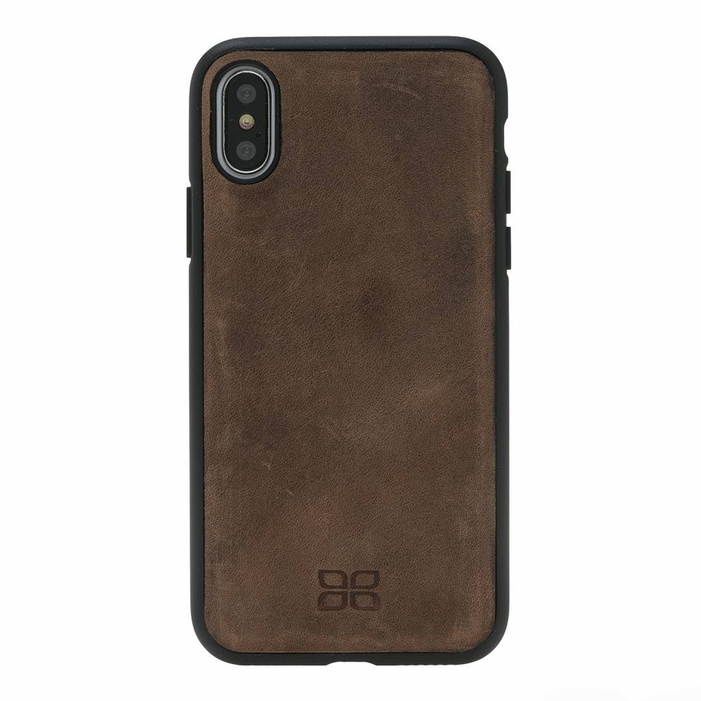 Bouletta Bouletta - iPhone Xs Max 2-in-1 Afneembare BookCase (Antic Coffee)